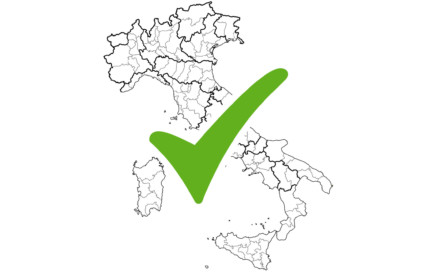 Carte zones Covid Italie au 28 juin 2021