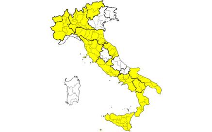 Carte zones Covid Italie au 7 juin 2021